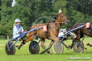 Fernando leidde de succesvolle middag in voor Caroline Aalbers (foto Team Huybers)